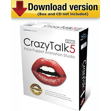 CrazyTalk5 PRO for Windows (1 - User) [Download]