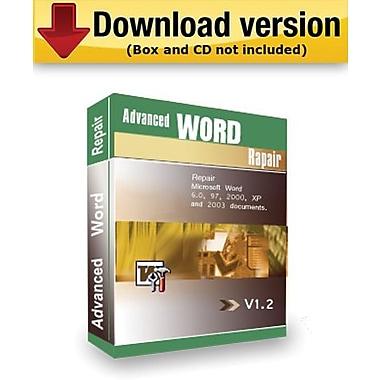Advanced Word Repair pour Windows (1 utilisateur) [Téléchargement]