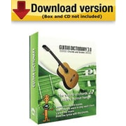 Guitar Chord Dictionary for Windows (1 - User) [Download]