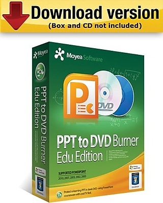 Moyea PPT to DVD Burner Education Edition for Windows (1-User) [Download] 955124