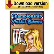 Championship Parlor Games for Windows (1 - User) [Download]