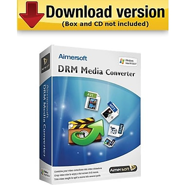 Aimersoft DRM Media Converter for Windows (1-User) [Download]