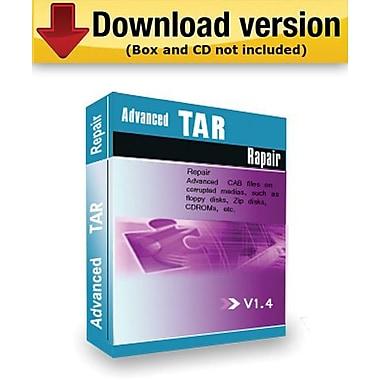 Logiciel de réparation de données TAR Advanced TAR Repair pour Windows (1 utilisateur) [téléchargement]