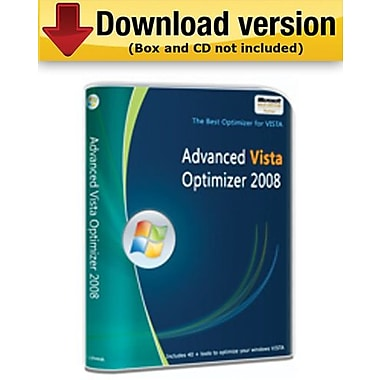 Advanced Vista Optimizer 2008 for Windows (1-User) [Download]