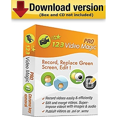 123Video Magic Pro for Windows (1-User) [Download]