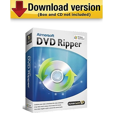 Aimersoft DVD Ripper for Windows (1-User) [Download]