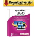 Syncables 360 Home Network Version 7 for Windows (1 - 5 User) [Download]