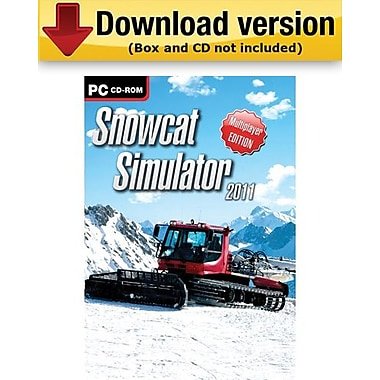 Snowcat Simulator 2011 for Windows (1-User) [Download]