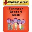 Flinkster Grade 4 Math for Windows (1-User) [Download]