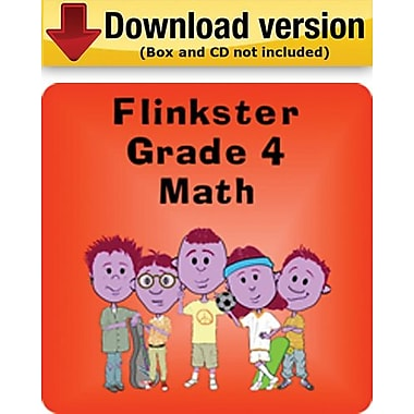 Flinkster Kindergarten to Grade 4 Math for Windows (1-User)