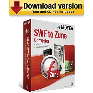 Moyea SWF to Zune Converter for Windows (1-User) [Download]