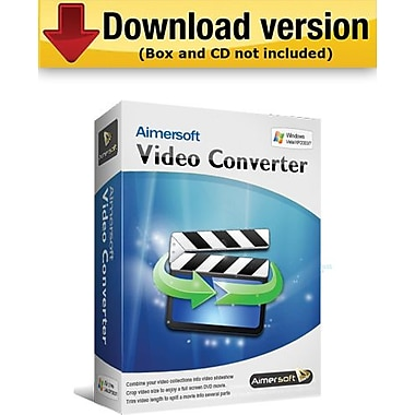 Aimersoft Video Converter Standard for Windows (1-User) [Download]