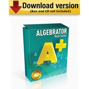 Algebrator for Windows (1 - User) [Download]