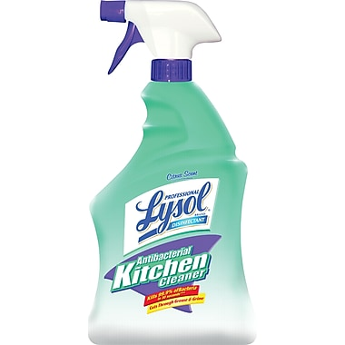 Lysol Professional Antibacterial Kitchen Cleaner Spray, 32 oz.
