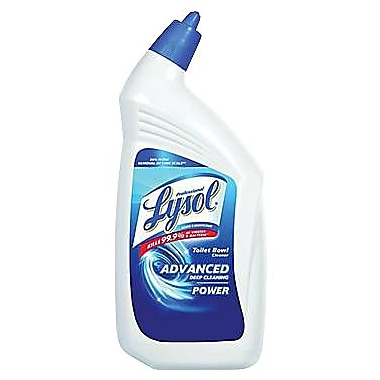 Lysol Professional Disinfectant Toilet Bowl Cleaner, Wintergreen Scent, 32 oz.
