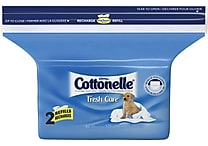 Cottonelle® Fresh Care™ Flushable Wipes, Refill, 84 Wipes/Pack