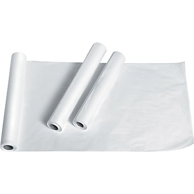 Medline Standard Crepe Exam Table Papers, 125 ft. L x 20in. W, 12/Pack