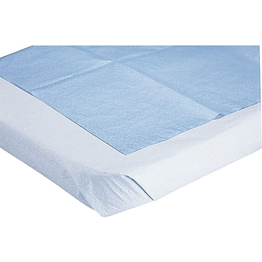 Medline 3-Ply Tissue Drape Sheets, 40in. L x 72in. W, 50/Pack