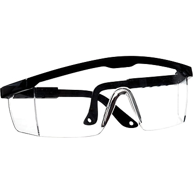 Medline Safety Glasses, Large Size, 12/Box