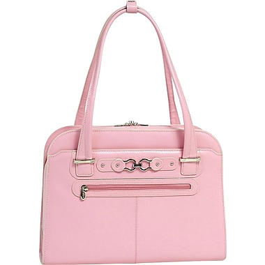 McKlein USA W Series Oak Grove Laptop Tote, Pink