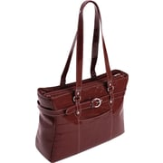 McKlein Siamod Monterosso Collection Serra Ladies Laptop Tote, Red