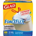 Glad® ForceFlex Stretchable Strength Drawstring Trash Bags