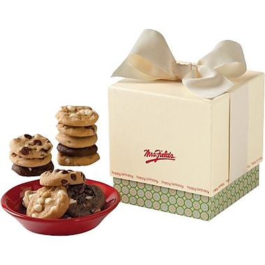 Mrs. Fields Birthday Mini Ribbon Box, 24 Nibblers