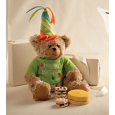 Mrs. Fields Birthday Bear with Nibblers & Cookies