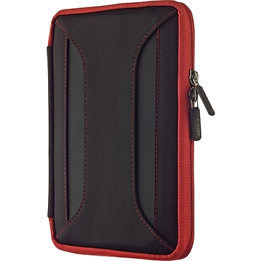 M-Edge Latitude Case for the New 7in. Kindle Fire HD, Black w/ Red