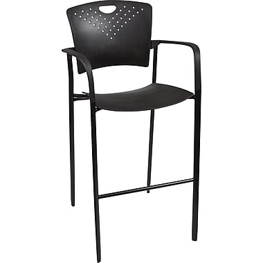 Balt Oui Stack Stool, Black