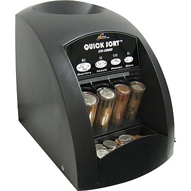 Royal Sovereign Fast Sort CO-1000 One-Row Coin Sorter