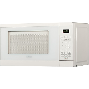 Haier .7 CU. FT. Counter Microwave, White