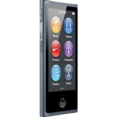 Apple – iPod Nano 16 Go, gris cosmique
