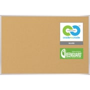 Best-Rite VT Logic Board Corkboard, 4' x 4'