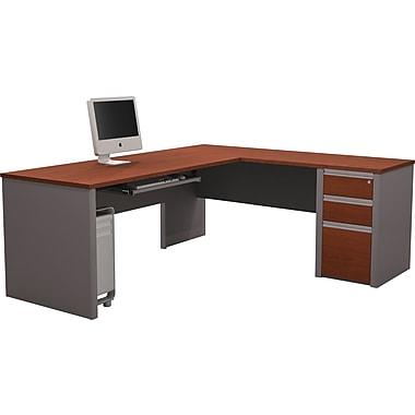 Bestar Connexion L Desk w/ Pedestal