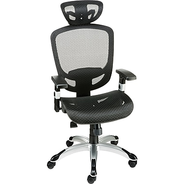 Staples Hyken Technical Mesh Task Chair, Black