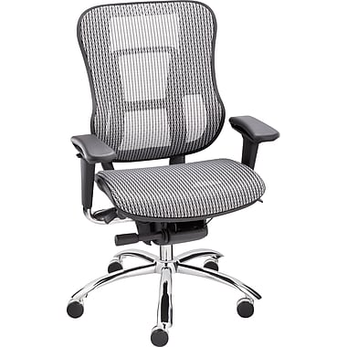 Staples Vayder Technical Mesh Task Chair, Silver