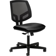 HON Volt Mesh Back Task/Computer Chair for Office and Computer Desks, Black Seat