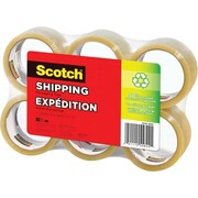 Scotch™ Shipping Tape, 6/Pack
