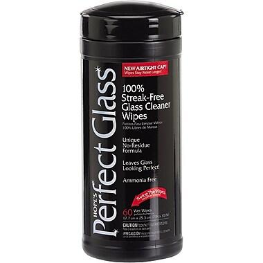 Hope's® Perfect Glass, Glass Wipes, 60 Wipes/Tub