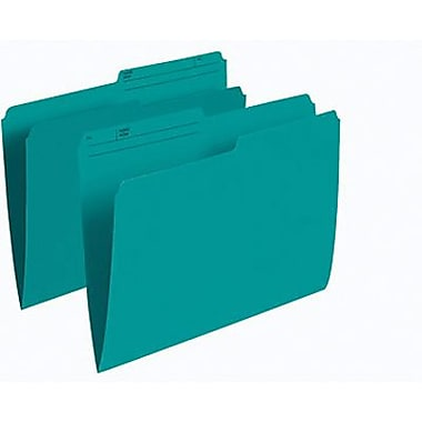 Staples® Coloured File Folder, Letter Size, 8-1/2