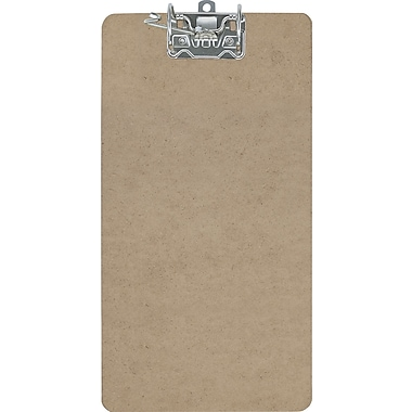 OIC® Recycled Archboard Clipboard, Legal, Brown, 9