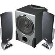 Cyber Acoustics CA-3550, 3-Piece Flat Panel Subwoofer Speaker System