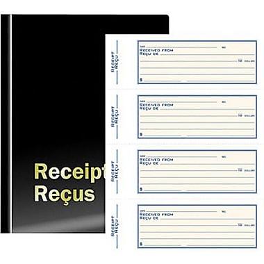 Staples® Deluxe Receipt Book, Triplicate, Biingual