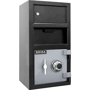 Mesa™ 1.5 Cubic Ft. Deposit Safe with Outer Locker and Combination Lock with Standard Delivery