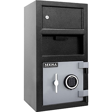 Mesa™ 1.5 Cubic Ft. Deposit Safe with Outer Locker and Electronic lock
