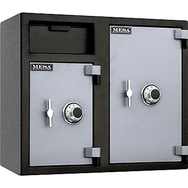 Mesa™ 6.7 Cubic Ft. Capacity Double Door Depository Safe with Combination Lock with Standard Deliver