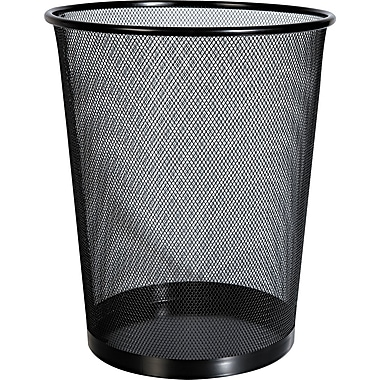 Universal Mesh Wastebasket, 14 1/8in. H x 11 3/4in. W x 14 1/8in. D