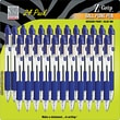 Z-Grip™ Retractable Ballpoint Pen, 1 mm Medium Point, Blue Ink, 24/Pack