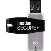 Imation Secure+ Flash Drive, 8GB